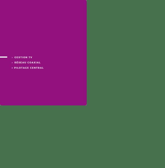Solution AVICONTROL pour réseau coaxial