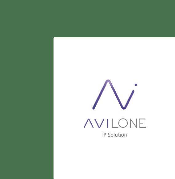 Logo AVILONE sur fond blanc