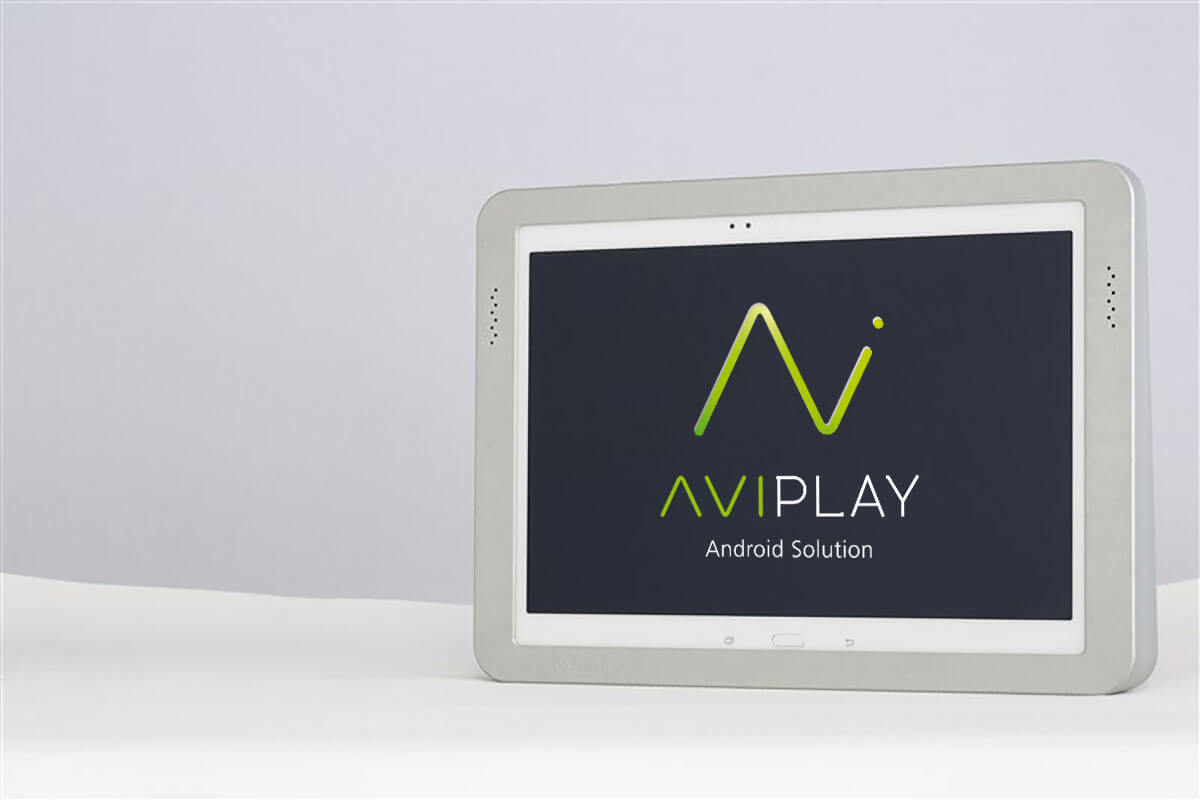 Tablette android AVIPLAY